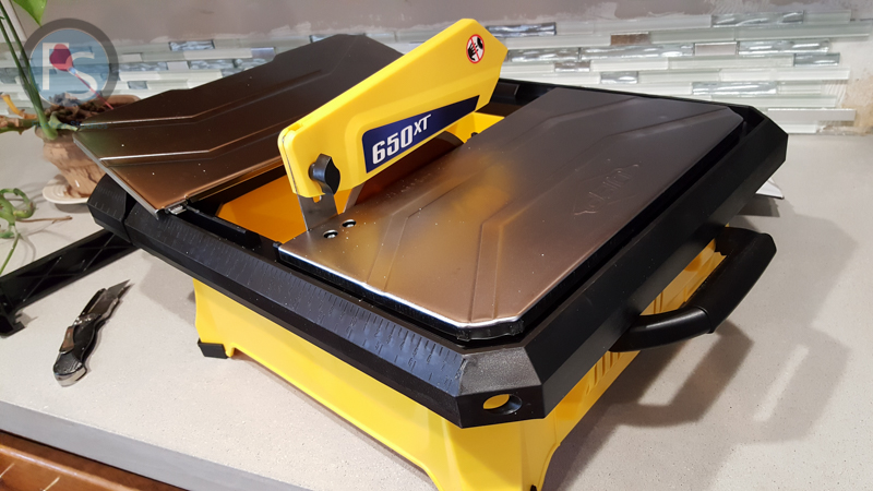 QEP Wet Tile Saw from Home Depot